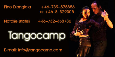 Contact Tangocamp 2010 International Argentine Tango Festival
